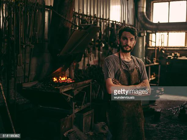 Blacksmith portrait