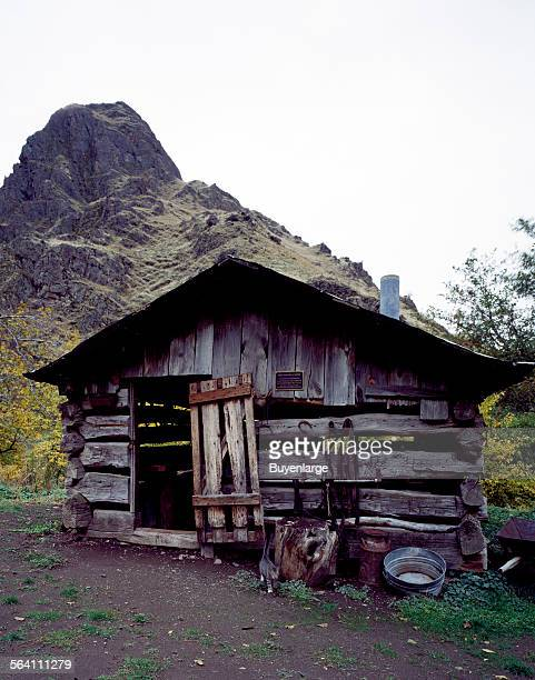 Blacksmith shop at Kirkwood Ranch on the Snake River Hells Canyon Idaho