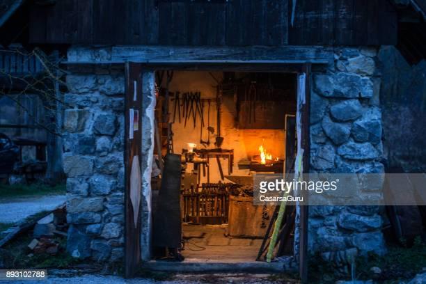 Blacksmith Workshop From Outside