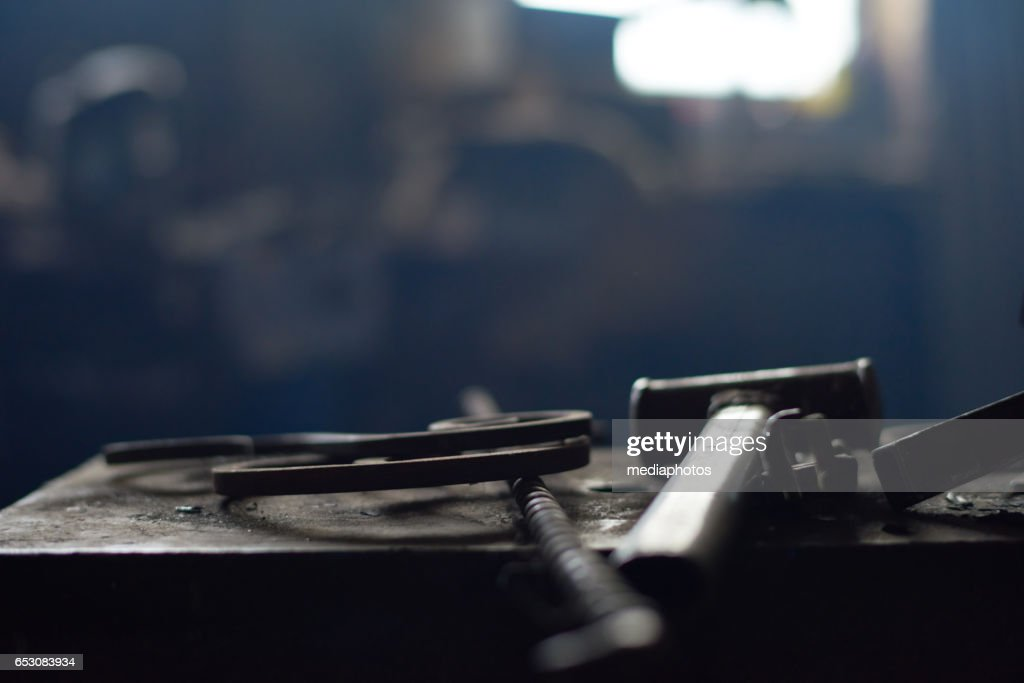 Blacksmiths tools : Stock Photo