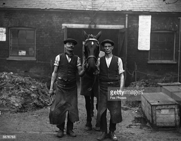 A blacksmith's workshop in Wood Green north London