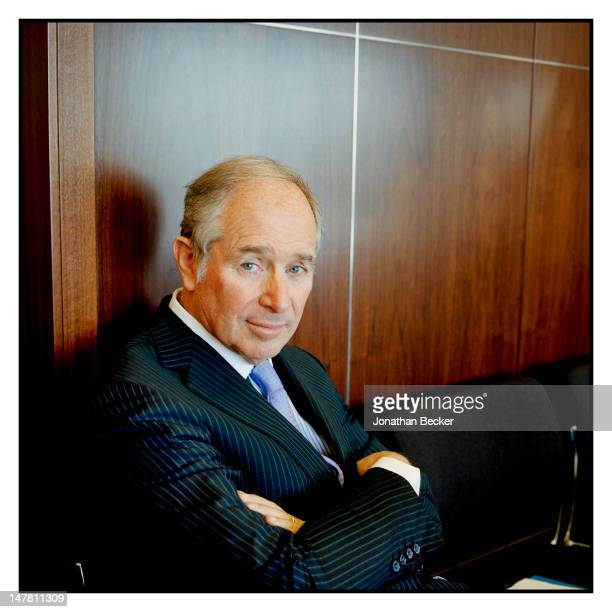 Blackstone cofounder Stephen Schwarzman is photographed for Fortune Magazine on October 31 2011 in New York City PUBLISHED IMAGE