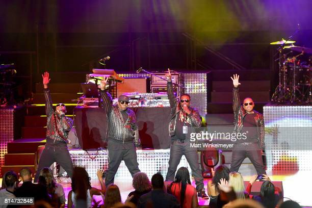 Blackstreet performs onstage during the I Love The 90s The Party Continues at The Greek Theatre on July 14 2017 in Los Angeles California