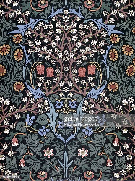 Blackthorn Wallpaper by William Morris