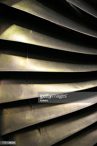 Blades of turbine