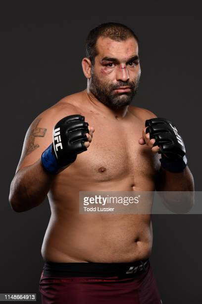 Blagoy Ivanov of Bulgaria poses for a portrait backstage during the UFC 238 event at the United Center on June 8 2019 in Chicago Illinois
