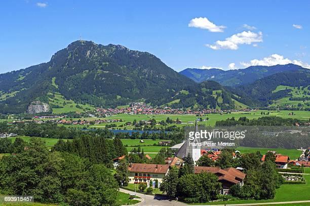 Blaichach and Mount Grünten, Allgä Alps, Bavaria