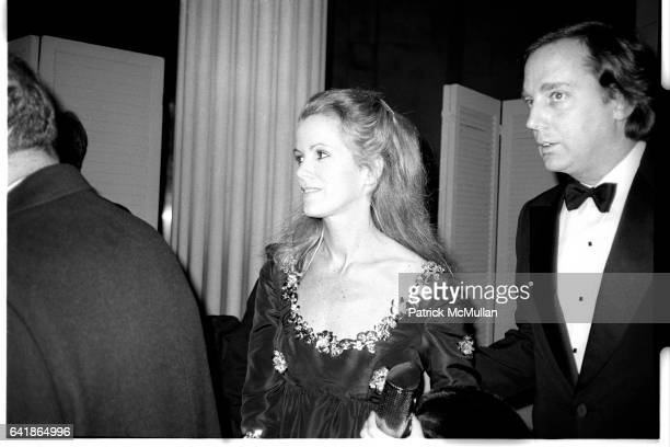 Blaine and Robert Trump at the Costume Institute's Met Ball Benefit held at the Metropolitan Museum of Art. December 1983.