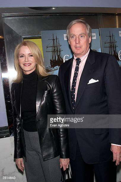 Blaine and Robert Trump attends the screening of The Indurance Shackleton's Legendary Antarctic Expedition at the Paris Theater in New York City...