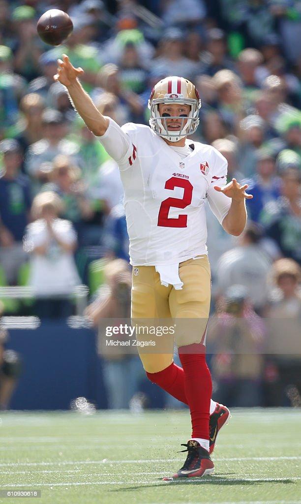 San Francisco 49ers v Seattle Seahawks