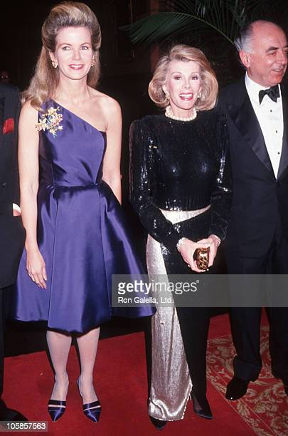 Blaine Joan Rivers and guests during 90th Birthday Party For Brooke Astor at 7th Regiment Armory in New York City New York United States