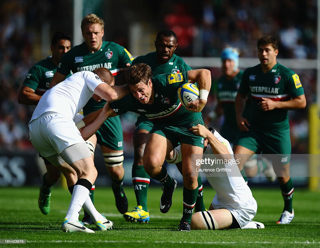 Leicester Tigers v Newcastle Falcons - Aviva Premiership