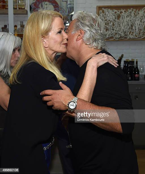 Blaine Trump and Aby Rosen attend Aby Rosen and Samantha Boardman host their Annual Dinner at The Dutch W Hotel South Beach on December 3 2015 in...