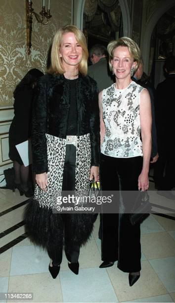 Blaine Trump Anne Bass during American Ballet Theater at Essex House in New York New York United States