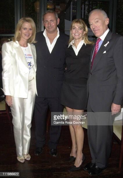 Blaine Trump John Demsey Natasha Richardson and Leonard Lauder