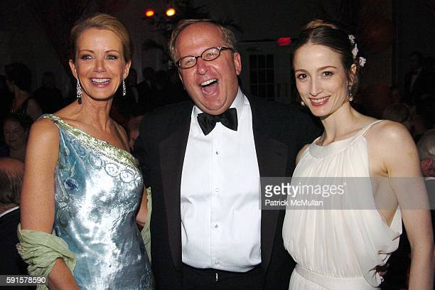 Blaine Trump Matthew Rubel and Julie Kent attend American Ballet Theatre 65th Anniversary Spring Gala at Metropolitan Opera House on May 23 2005 in...