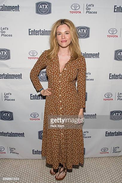 Blair Bomar attends the Ugly Betty Reunion After Party presented with Entertainment Weekly sponsored by Toyota at the ATX Television Festival in...