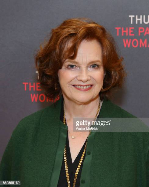 Blair Brown attends the Meet Greet Photo Call for the cast of Broadway's 'The Parisian Woman' at the New 42nd Street Studios on October 18 2017 in...