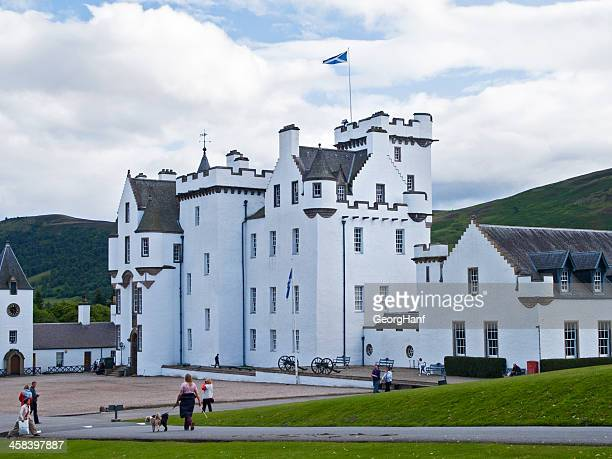 blair castle - perth scotland stock pictures, royalty-free photos & images