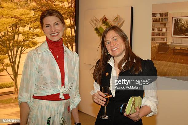 Blair Clarke and Emmy Kenan attend Peter Marino and Orin Wilf Host Cocktails to Honor Sculptors Claude and FrancoisXavier LALANNE at 530 East 88th St...