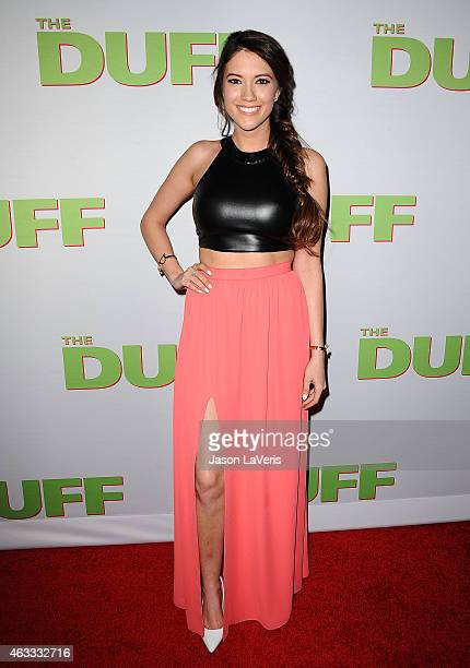 Blair Fowler attends the premiere of The Duff at TCL Chinese 6 Theatres on February 12 2015 in Hollywood California