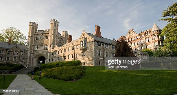 Blair Hall and Buyer Hall at Princeton University in Princeton New Jersey