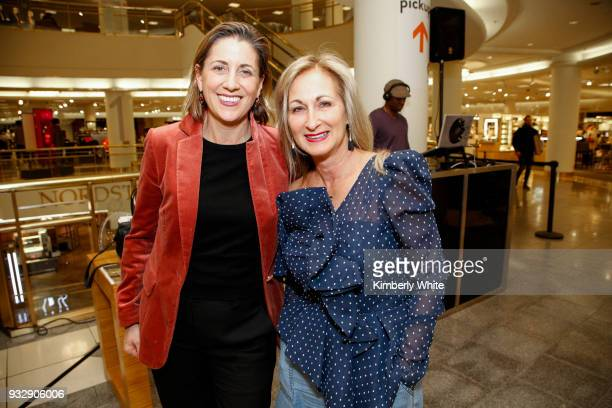 Blair Hecht and Lori Kahan attend the ELLE and Birkenstock Launch Exclusive PopUp Shop at Nordstrom on March 15 2018 in San Francisco California