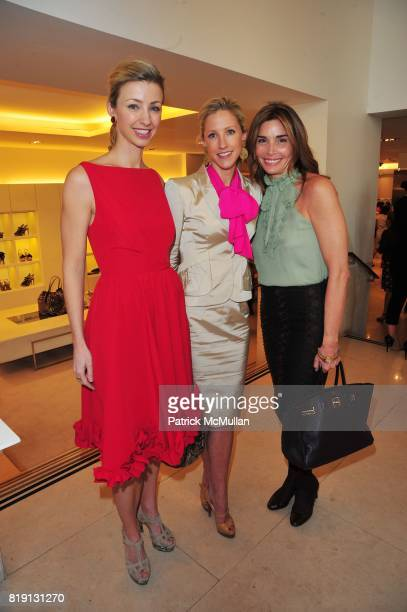 Blair Husain Sara Peterson and attend VALENTINO Spring/ Summer 2010 Collection Private Luncheon and Presentation hosted by Samantha Boardman Rosen...