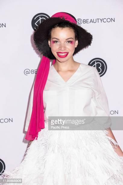 Blair Imani attends Beautycon Festival NYC 2019 at Jacob K Javits Convention Center Manhattan