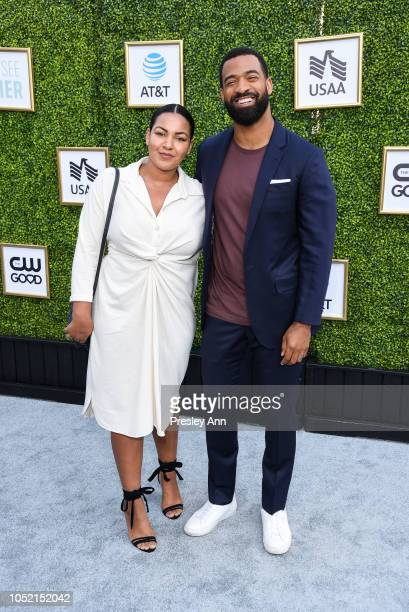 Blair Paysinger and Spencer Paysinger attend The CW Network's Fall Launch Event Arrivals at Warner Bros Studios on October 14 2018 in Burbank...
