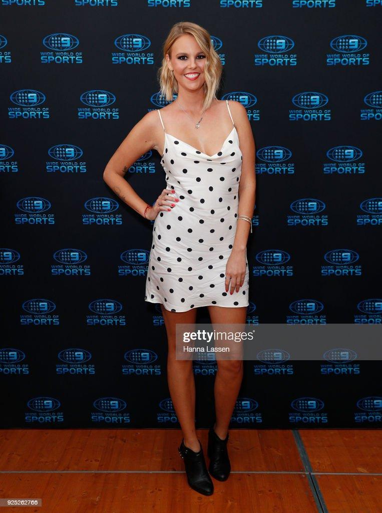 Blair Rachel attends the Nine Network 2018 NRL Launch at the Australian Maritime Museum on February 28, 2018 in Sydney, Australia.