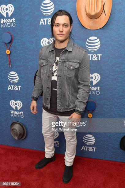 Blair Redford arrives at the 2018 iHeartCountry Festival By ATT at The Frank Erwin Center on May 5 2018 in Austin Texas