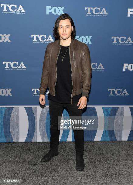 Blair Redford attends the FOX AllStar Party during the 2018 Winter TCA Tour at The Langham Huntington Pasadena on January 4 2018 in Pasadena...