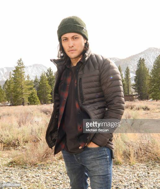 Blair Redford poses for portrait giveback for The Artists Project at The Inaugural Mammoth Film Festival on February 10 2018 in Mammoth Lakes...