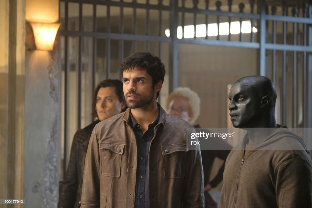 Blair Redford, Sean Teale and guest star Jermaine Rivers in the '3x1' Winter Premiere episode of THE GIFTED airing Monday, Jan. 1 (9:00-10:00 PM ET/PT) on FOX.