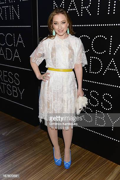 Blair Rich attends Catherine Martin And Miuccia Prada Dress Gatsby Opening Cocktail on April 30 2013 in New York City