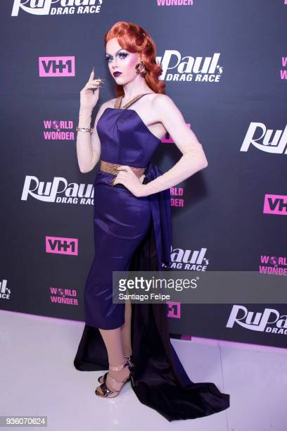 Blair St Clair attends 'RuPaul's Drag Race' Season 10 Meet The Queens at TRL Studios on March 21 2018 in New York City