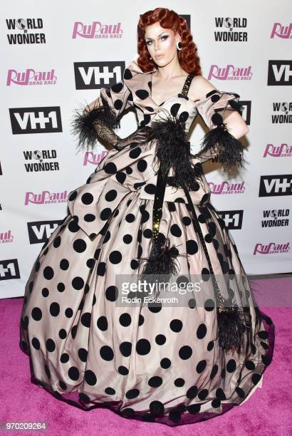 Blair St Clari attends VH1's RuPaul's Drag Race Season 10 Finale at The Theatre at Ace Hotel on June 8 2018 in Los Angeles California