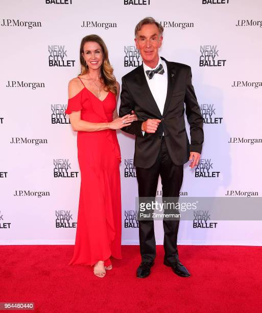 Blair Trindall and Bill Nye attend the 2018 New York City Ballet Spring Gala at David H Koch Theater Lincoln Center on May 3 2018 in New York City