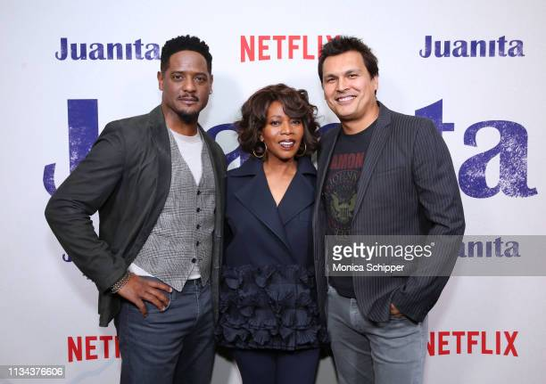 Blair Underwood Alfre Woodard and Adam Beach attend 'Juanita' Special Screening on March 07 2019 in New York City