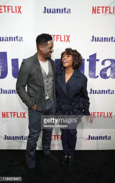 Blair Underwood and Alfre Woodard attend 'Juanita' Special Screening on March 07 2019 in New York City