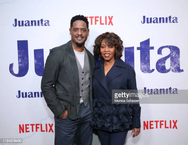 Blair Underwood and Alfre Woodard attend Juanita Special Screening on March 07 2019 in New York City
