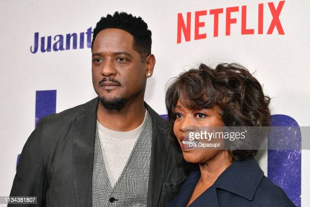 Blair Underwood and Alfre Woodard attend the 'Juanita' New York screening at Metrograph on March 07 2019 in New York City