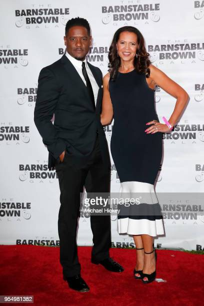 Blair Underwood and Desiree DaCosta appears at the Barnstable Brown Gala on May 4 2018 in Louisville Kentucky