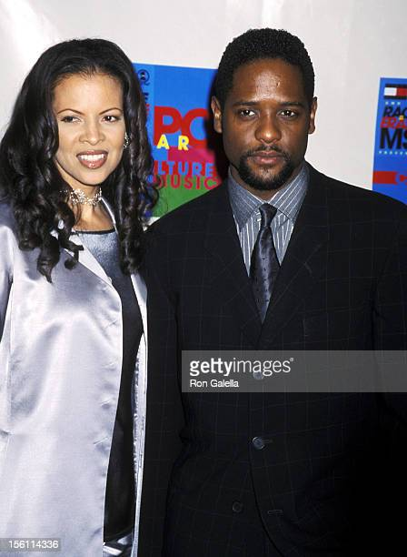 Blair Underwood and Desiree DaCosta during 7th Annual Race to Erase MS Gala at Century Plaza Hotel in Century City California United States