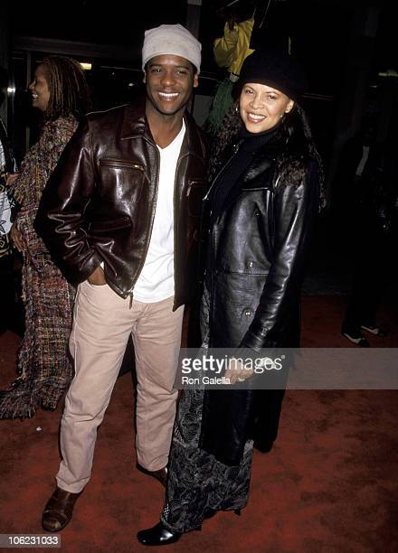 Blair Underwood and Desiree DaCosta during Crazy As Hell Premiere February 6 2002 at Loew's Cineplex Theatre in Century City California United States