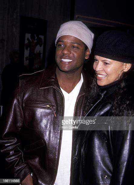 Blair Underwood and Desiree DaCosta during 'Crazy As Hell' Premiere February 6 2002 at Loew's Cineplex Theatre in Century City California United...