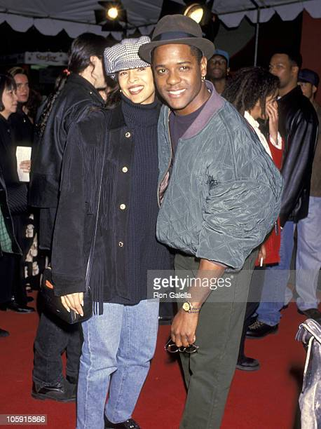 Blair Underwood and Desiree DaCosta during Sugar Hill Los Angeles Screening at Mann's Chinese Theater in Hollywood California United States
