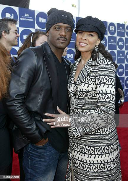 Blair Underwood and Desiree DaCosta during The 19th Annual IFP Independent Spirit Awards Red Carpet at Santa Monica Pier in Santa Monica California...