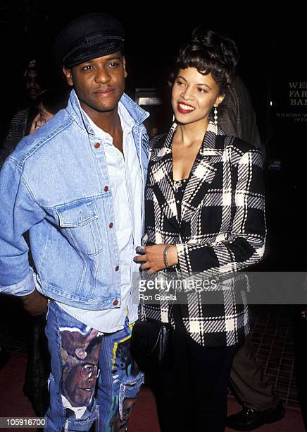 Blair Underwood and Desiree DaCosta during White Men Can't Jump Los Angeles Premiere at Avco Cinema in Westwood California United States